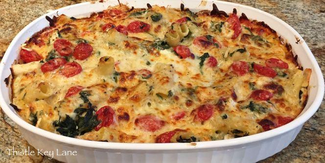 Chicken-n-Spinach Pasta Bake