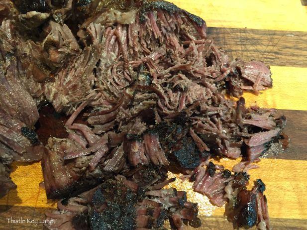Roast falls apart