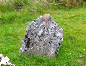 Mixed Clan marker at Culloden