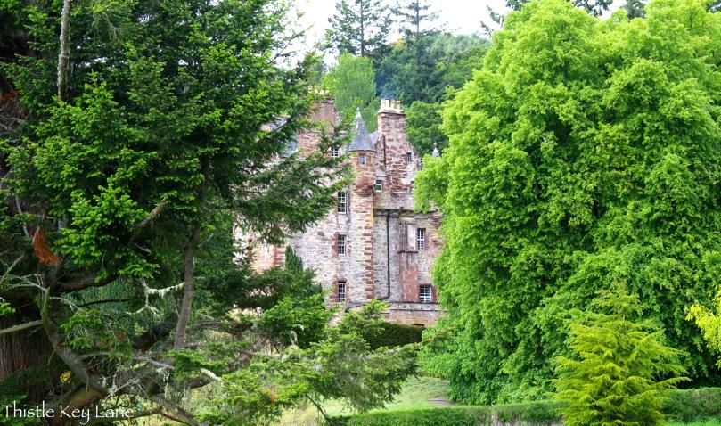 Castle Leod, a view into the past.