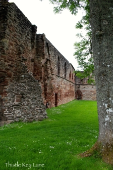 Beauly Priory outer wall