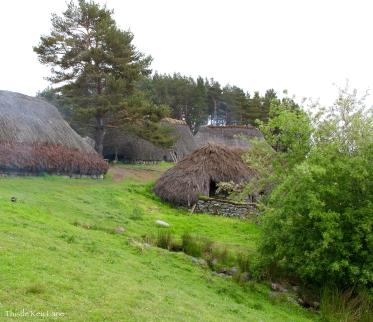 Village at the Highland Folk Museum