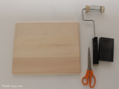 Supplies and tool for distressing the wood