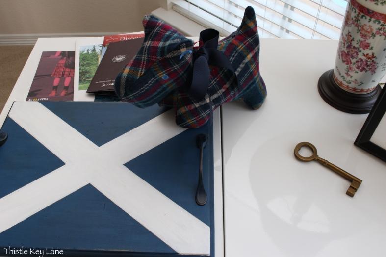 Scottish Flag Tray