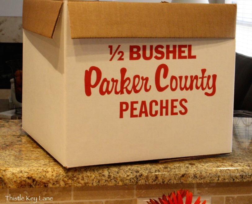 Parker County peaches