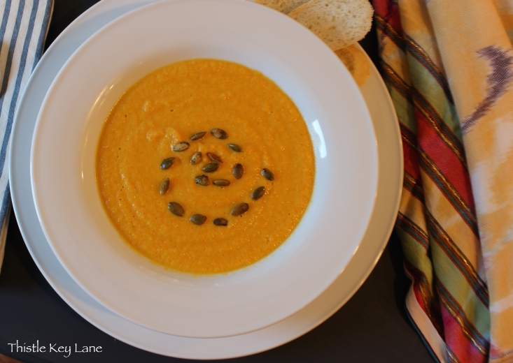 Baby Carrot Apple Soup