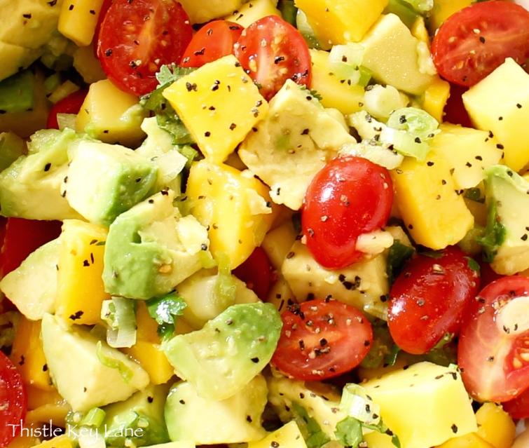 Healthy Mango Salad