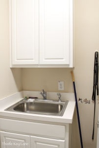 Before sink area