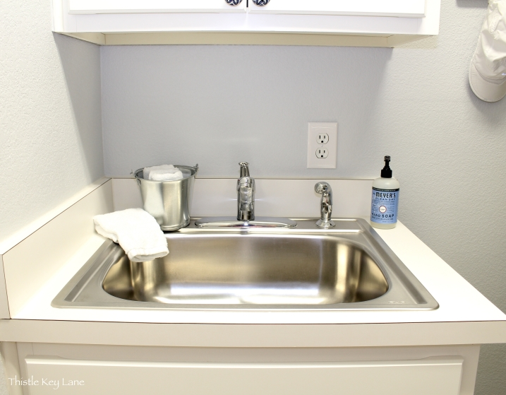 Sink area organized