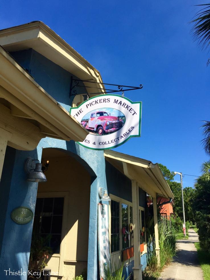 The Pickers Market downtown Fernandina Beach