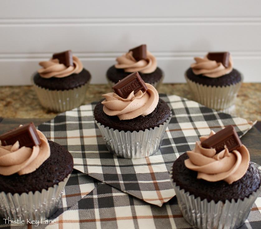 Chocolate Whisky Cupcakes