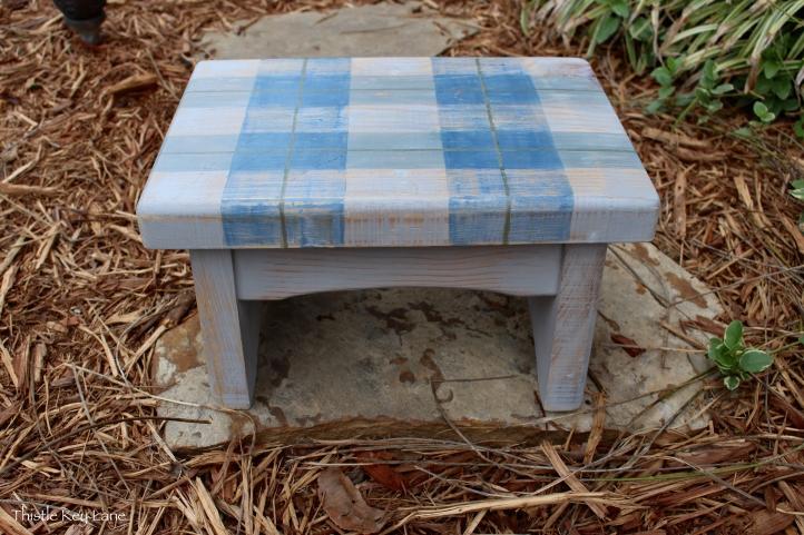 Finished step stool