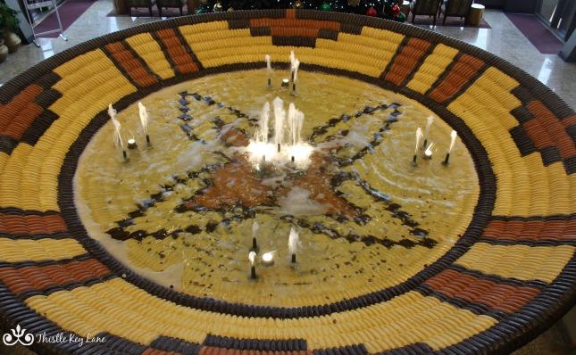 Indian Basket Fountain