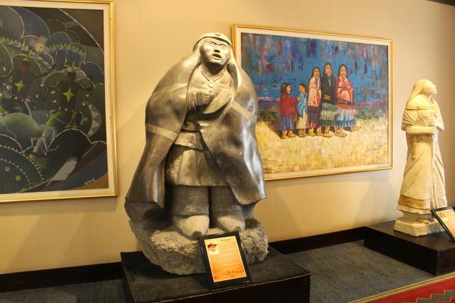 Inn of the Mountain Gods Art Display
