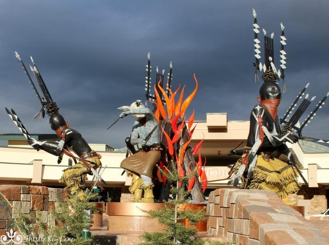 Mescalero Apache Sculpture