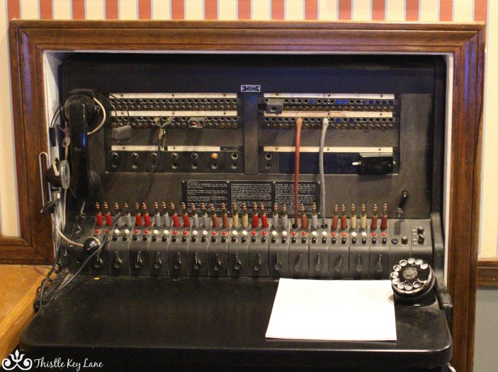 Old Switchboard at The Lodge