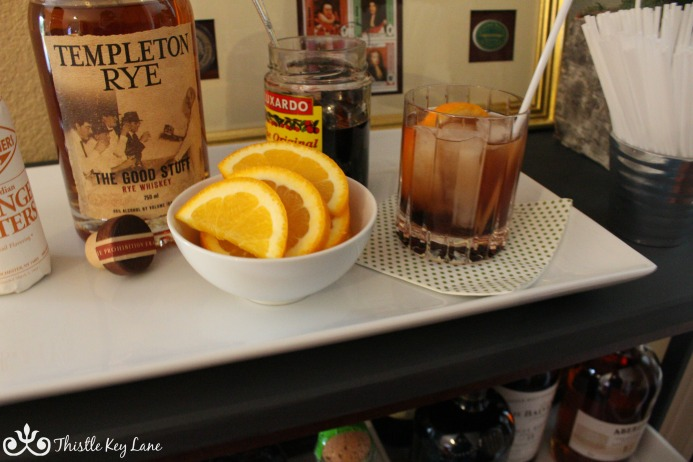 Ingredients for an Old Fashion