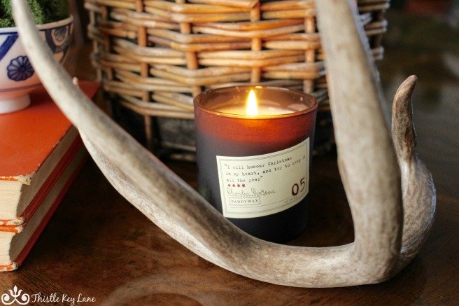 Paddywax Charles Dickens Candle