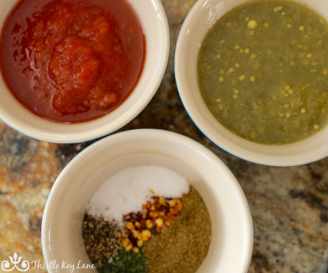 Salsa and spices