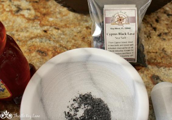 Cyprus Black Lava Sea Salt