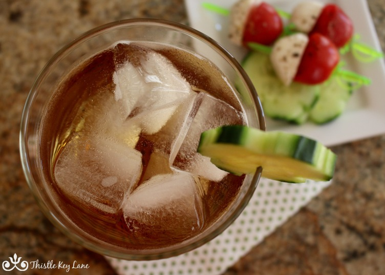 Irish Mule with appetizers
