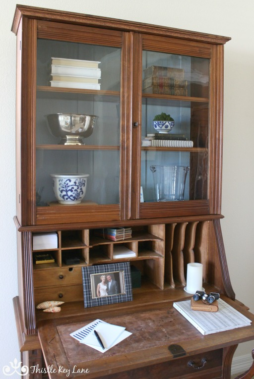 Updating furniture with moulding