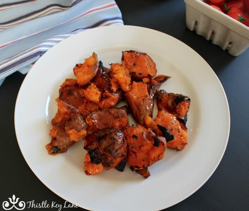 Platter of Sweet Potatoes