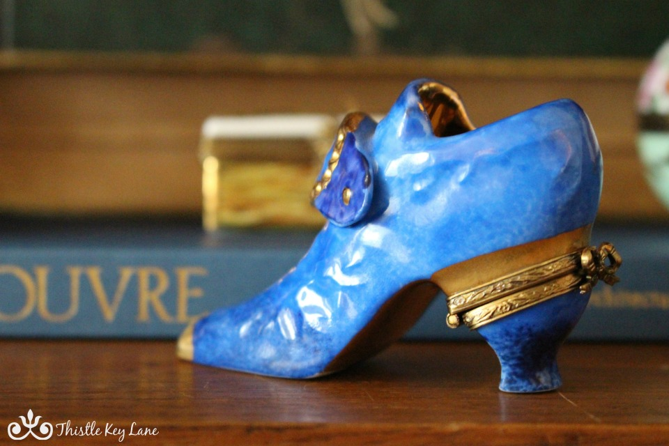 Limoges French Shoe Box
