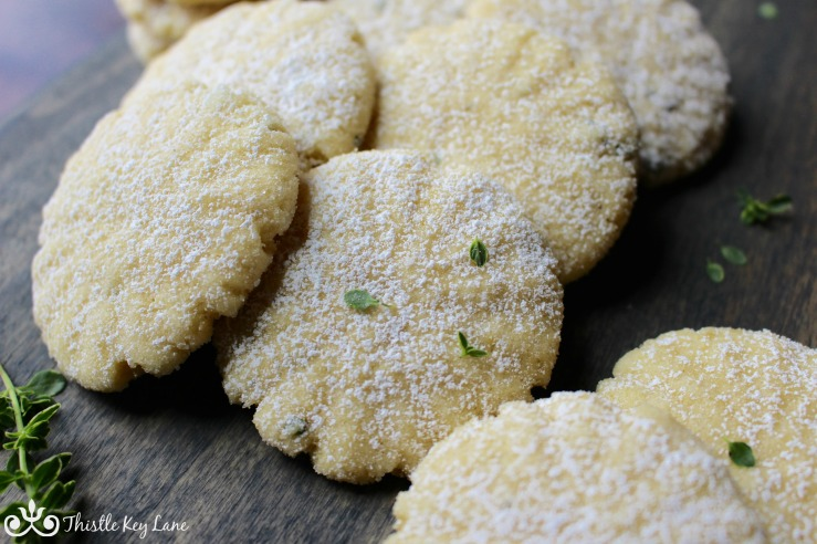 Lemon Thyme Cookie
