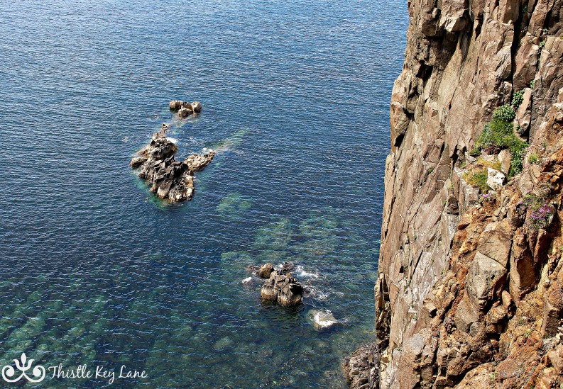 Blue waters at Neist Point