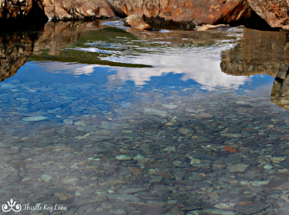 Crystal clear fairy pools