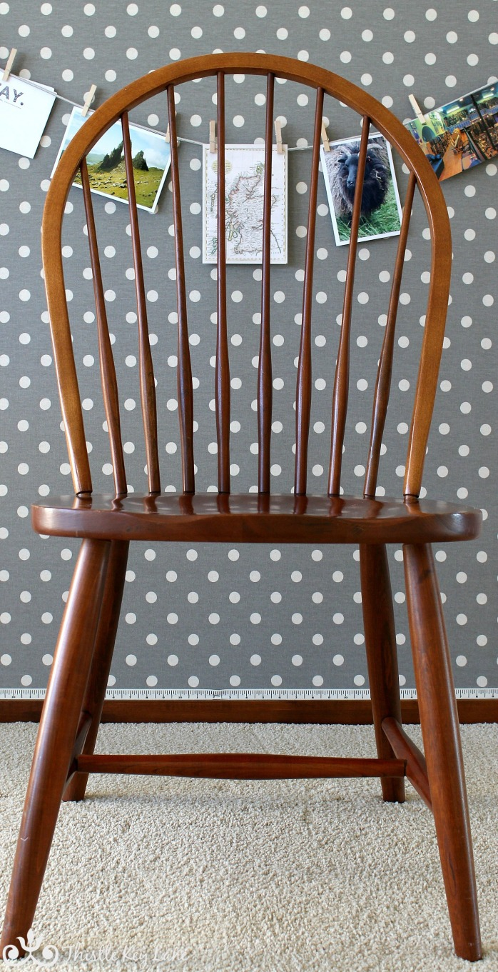 Windsor Chair Before