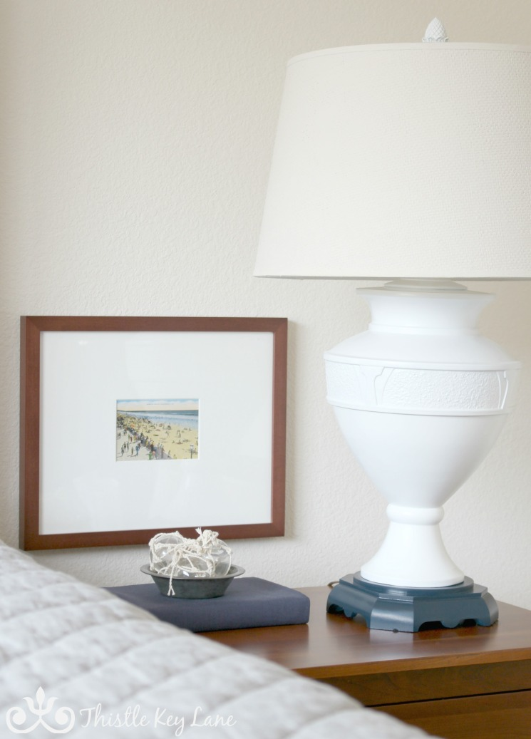 Update a lamp with paint | Thistle Key Lane