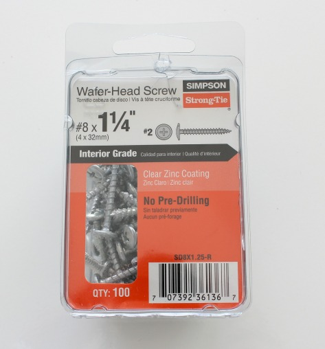 Wafer Head Screw by Simpson