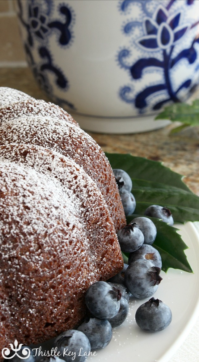 Holiday Spiced Rum Cake | Thistle Key Lane