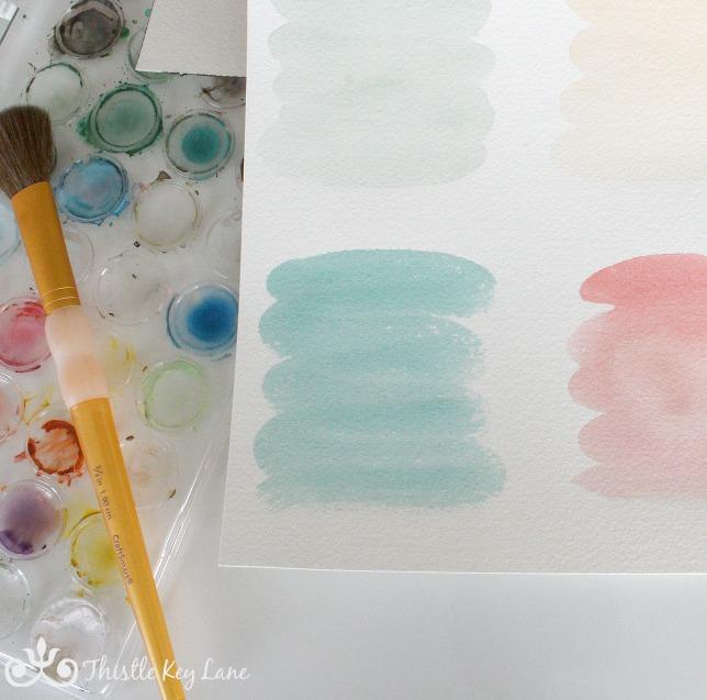 Watercolor Labels For Jars