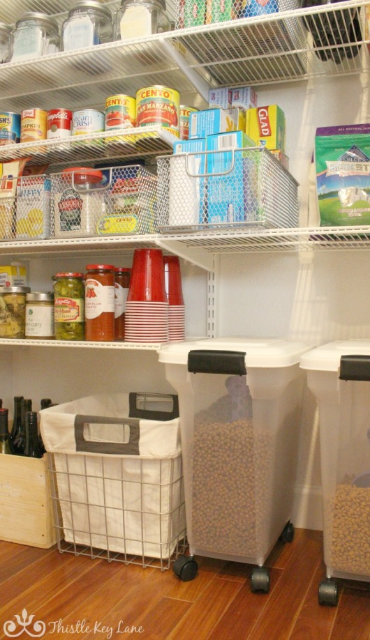 Organizing A Kitchen Pantry. Thistle Key Lane