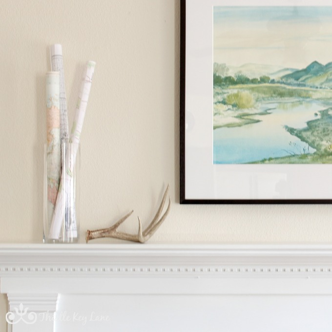 Decorating with winter whites and neutrals.