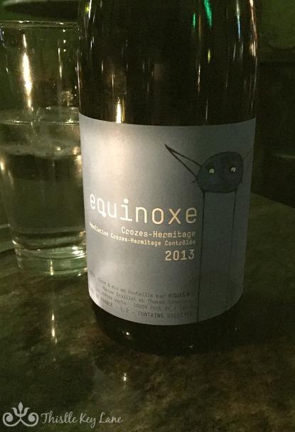Wine at Péché Austin