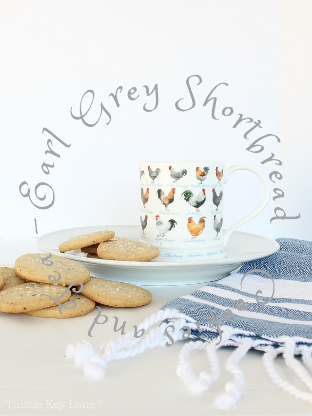 Earl Grey Shortbread Cookie Recipe