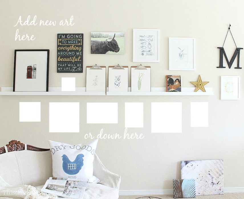 Gallery Wall With Room To Grow