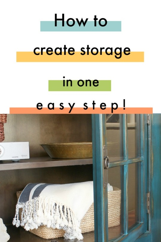 How to create storage in one easy step.